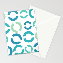 Blue Solos Stationery Cards