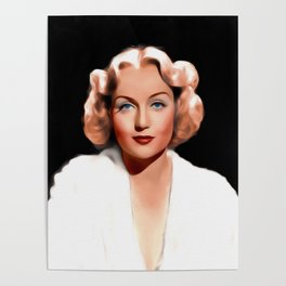 Carole Lombard, Hollywood Legend Poster