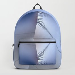 Fractal ice crystals at freezing point Backpack