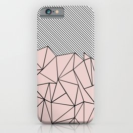 Ab Lines 45 Dogwood iPhone Case