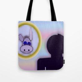 A vain person Tote Bag