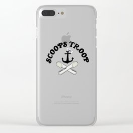 Scoops troop ahoy Clear iPhone Case