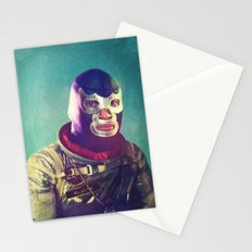 Luna Luchador Stationery Cards