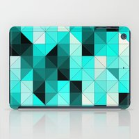 teal iPad Cases featuring Teal by Hannah