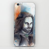 aragorn iPhone & iPod Skins featuring Elessar by Kinko-White