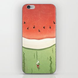 Fleshy Fruit (Watermelon) iPhone Skin