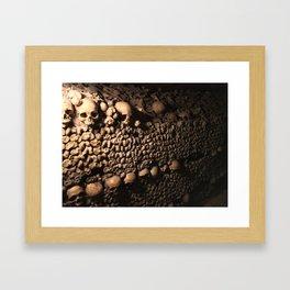 Wall of Souls Framed Art Print