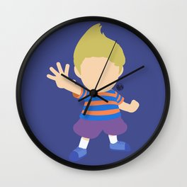Lucas(Smash)Blue Wall Clock