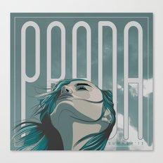 PRADA Canvas Print