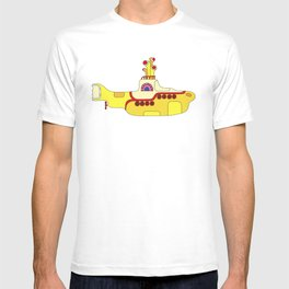 We all live in a yellow submarine T-shirt