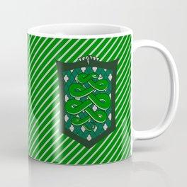 HP Slytherin House Crest Coffee Mug