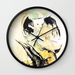 Mais animais Wall Clock