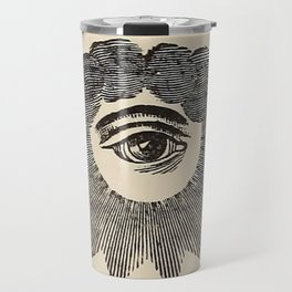 Vintage Magic Eye Travel Mug