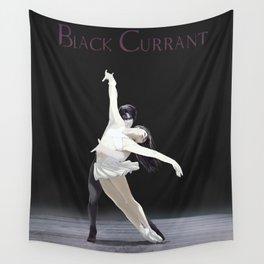 Black Currant - Rivamika (Pas de Deux) Wall Tapestry
