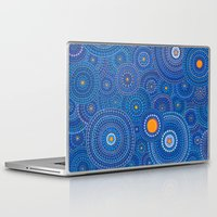 starry night Laptop & iPad Skins featuring Starry Starry Night by Elspeth McLean