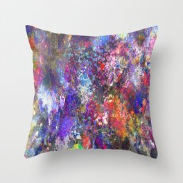 My Paint Shirt Throw Pillow