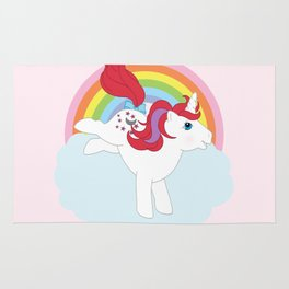 g1 my little pony Moondancer Rug