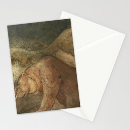 Poor little Basse by John Bauer Stationery Cards