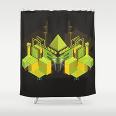 Temple of the Weeping Pyramid Shower Curtain