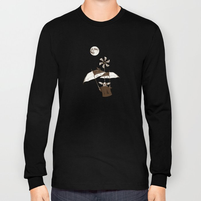 Over the Amazon to the Moon Long Sleeve T-shirt