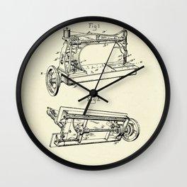 Sewing Machine-1885 Wall Clock