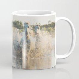 runaway horses ... Coffee Mug