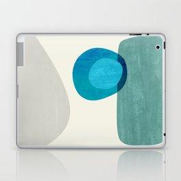 Stacking Pebbles Blue Laptop & iPad Skin