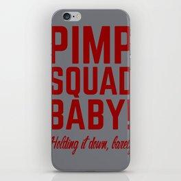 Pimp Squad Baby iPhone Skin