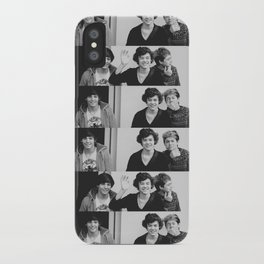 One Direction - Louis Tomlinson, Harry Styles, and Niall Horan - B&W iPhone Case