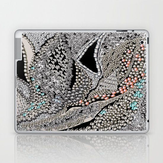 Silver Jewel Laptop & iPad Skin