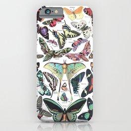 Adolphe Millot- Vintage Papillon iPhone Case