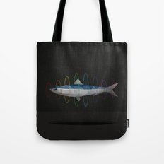 flying sardine Tote Bag