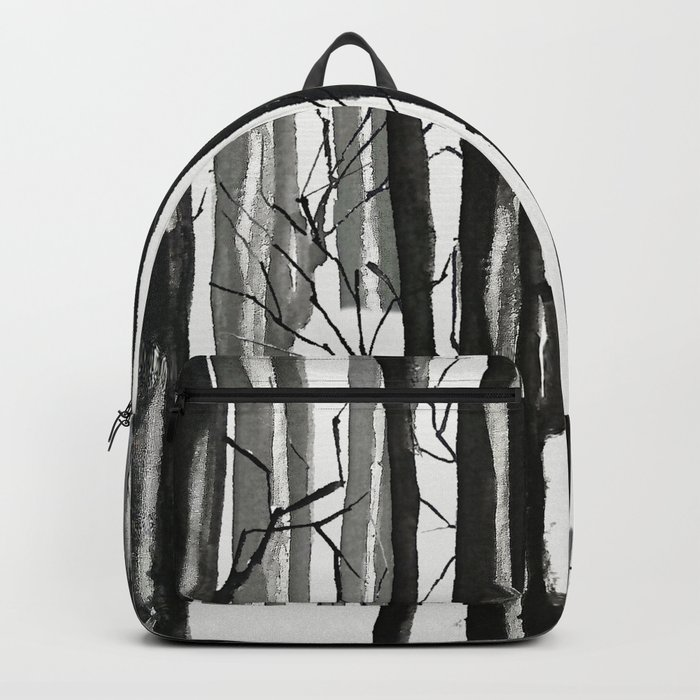 wood and snow Backpack