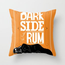 come to the dark side we have parties Throw Pillow