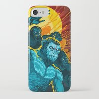 planet of the apes iPhone & iPod Cases featuring Dawn Of The Planet Of The Apes by KD Artwork