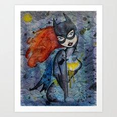 Babs Art Print