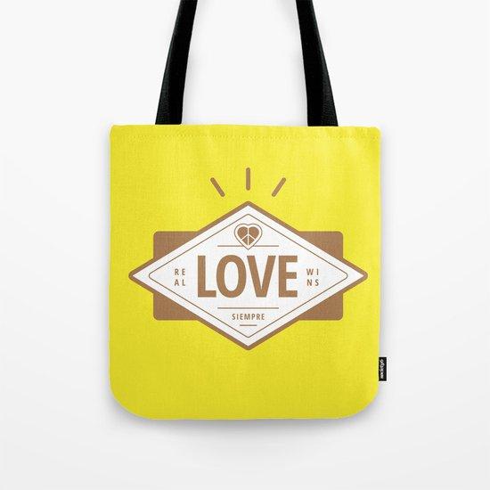 Kurcho - Real Love Wins Tote Bag