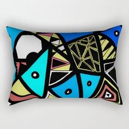 Urban Renaissance Rectangular Pillow