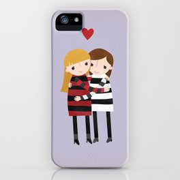 Best Friends Forever - Girls iPhone Case