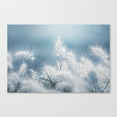 the art of a soft landing Canvas Print