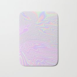 Pink Holographic Bath Mat