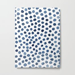 Little blue dots Metal Print