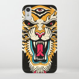 Tiger 3 Eyes iPhone Case