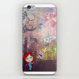 Be Free Little Birdie iPhone Skin
