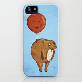 Float On, Bear, Float On iPhone Case
