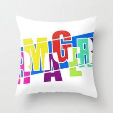 Ermagerd! Throw Pillow