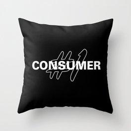 #1 Consumer Throw Pillow
