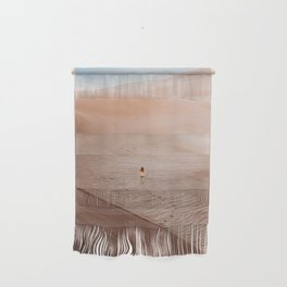 Moonscape musing in the Colorado Sand Dunes Wall Hanging