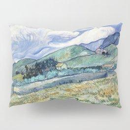 """Vincent van Gogh """"Mountainous Landscape behind Saint-Paul Hospital"""" Pillow Sham"""