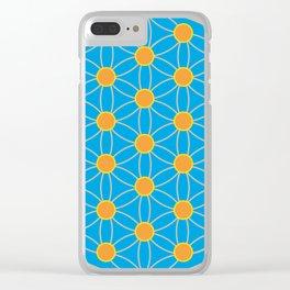 Fleur de vie, été Clear iPhone Case